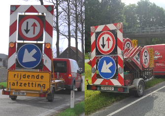 Actiewagens en bordenwagens