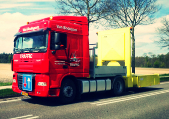 DAF XF105 Vrachtwagen botsabsorber
